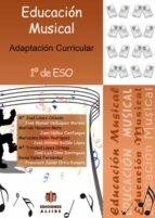 educacion musical 1º eso: adaptacion curricular 9788497006095