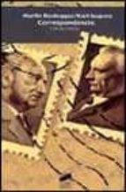 correspondencia (1920 1963) martin heidegger karl jaspers 9788497560795