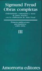 obras completas (vol.iii): primeras publicaciones psicoanaliticas-sigmund freud-9789505185795