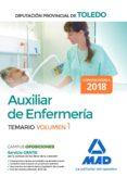 AUXILIAR DE ENFERMERÍA DE LA DIPUTACIÓN PROVINCIAL DE TOLEDO. VOLUMEN 1 - 9788414214305 - VV.AA.