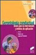GERONTOLOGIA CONDUCTUAL - 9788477386605 - VV.AA.