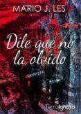 DILE QUE NO LA OLVIDO - 9788494786105 - MARIO J. LES