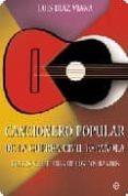 CANCIONERO POPULAR DE LA GUERRA CIVIL ESPAÑOLA - 9788497346405 - LUIS DIAZ VIANA