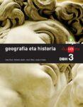 DBH3 GEOGRAFIA ETA HISTORIA BIZIGARRI-15 - 9788498553505 - VV.AA.