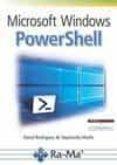 MICROSOFT WINDOWS POWERSHELL - 9788499646305 - DAVID RODRIGUEZ DE SEPULVEDA