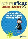 LAS AVENTURAS DE LA BRUJITA WITCHY WITCH (JUEGOS DE LECTURA) - 9788421657515 - VV.AA.