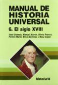 EDAD MODERNA, SIGLO XVIII (VOL.10) - 9788476793015 - JUAN PABLO FUSI