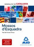 MOSSOS D ESQUADRA: TEST DEL TEMARI OFICIAL - 9788414224625 - VV.AA.