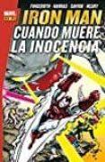 IRON MAN. CUANDO MUERE LA INOCENCIA - 9788491670025 - DANNY FINGEROTH