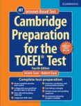 CAMBRIDGE PREPARATION FOR THE TOEFL TEST BOOK WITH ONLINE PRACTICE TESTS AND AUDIO CDS (8) PACK 4TH EDITION - 9781107685635 - VV.AA.