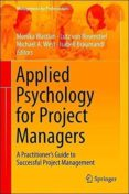APPLIED PSYCHOLOGY FOR PROJECT MANAGERS: A PRACTITIONER S GUIDE TO SUCCESSFUL PROJECT MANAGEMENT - 9783662442135 - VV.AA.