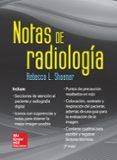 NOTAS DE RADIOLOGÍA - 9786071509635 - HALLDOR SOEHNER