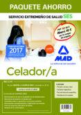 PAQUETE AHORRO CELADOR/A DEL SERVICIO EXTREMEÑO DE SALUD. (INCLUYE TEMARIO COMÚN Y TEST; TEMARIO ESPECÍFICO; TEST         ; TEST TEMARIO ESPECÍFICO; SIMULACROS DE EXAMEN Y ACCESO A CAMPUS ORO) - 9788414210635 - VV.AA.