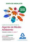 CUERPO DE AYUDANTES TECNICOS ESPECIALIDAD AGENTES DE MEDIO AMBIENTE DE LA JUNTA DE ANDALUCIA: TEMARIO COMUN (VOL. 1) - 9788414222935 - VV.AA.