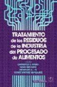 TRATAMIENTO RESIDUOS INDUSTRIA DEL PROCESADO ALIMENTOS - 9788420011035 - LAWRENCE WANG