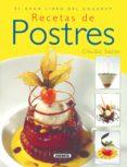 RECETAS DE POSTRES - 9788430568635 - VV.AA.