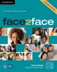 FACE2FACE FOR SPANISH SPEAKERS SECOND EDITION PACKS INTERMEDIATE PACK (STUDENT S BOOK WITH DVD-ROM, SPANISH SPEAKERS HANDBOOK WITH CD, WORKBOOK WITH KEY) - 9788490363935 - VV.AA.