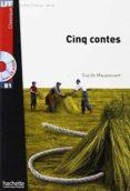 CINQ CONTES + CD  (LFF) - 9782011557445 - VV.AA.