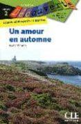 DECOUVERTE UN AMOUR EN AUTOMNE - 9782090314045 - REINE MIMRAN