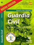 GUARDIA CIVIL. ESCALA DE CABOS Y GUARDIAS. TEMARIO Y TEST. VOL. 3 - 9788417661045 - VV.AA.