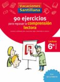 6 VACACIONES COMPRENSION LECTORA (EDUCACION PRIMARIA) - 9788429409345 - VV.AA.