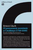 EL PENSAMENT ECONOMIC A CATALUNYA (1760-1840) - 9788429763645 - ERNEST LLUCH