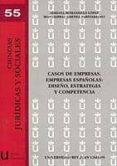CASOS DE EMPRESAS. EMPRESAS ESPAÑOLAS: DISEÑO, ESTRATEGIA Y COMPE TENCIA. - 9788497729345 - VV.AA.