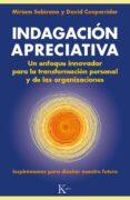 INDAGACION APRECIATIVA - 9788499883045 - MIRIAM SUBIRANA