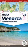 MAPA MENORCA (1:60000) - 9788484780755 - VV.AA.