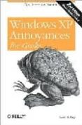 WINDOWS XP ANNOYANCES FOR GEEKS - 9780596008765 - DAVID A. KARP