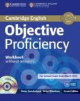 OBJECTIVE PROFICIENCY (2ND ED.): WORKBOOK WITHOUT ANSWERS WITH AU DIO CD - 9781107621565 - ANNETTE CAPEL