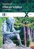 A DIOS POR LA BELLEZA (EBOOK) - 9788490558065 - EDUARDO CAMINO