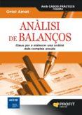 ANALISI DE BALANÇOS - 9788496998865 - ORIOL AMAT
