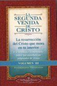 LA SEGUNDA VENIDA DE CRISTO. VOLUMEN III - 9780876121375 - PARAMAHANSA YOGANANDA