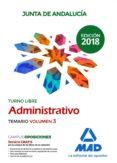 ADMINISTRATIVO DE LA JUNTA DE ANDALUCÍA TURNO LIBRE. TEMARIO VOLUMEN 3 - 9788414216675 - VV.AA.