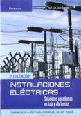 INSTALACIONES ELECTRICAS: SOLUCIONES A PROBLEMAS - 9788428331975 - JOSE LUIS SANZ SERRANO