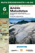 MAPA ANETO-MALADETAS Nº6 - 9788483211175 - VV.AA.