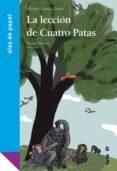 LA LECCION DE CUATRO PATAS - 9788496553675 - ALFREDO GOMEZ CERDA