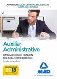 AUXILIAR ADMINISTRATIVO DE LA ADMINISTRACIÓN GENERAL DEL ESTADO PROMOCIÓN INTERNA - 9788414214985 - VV.AA.