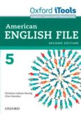 AMERICAN ENGLISH FILE 5 ITOOLS 2ED - 9780194775595 - VV.AA.