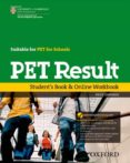 PET RESULT STUDENT BOOK + ONLINE WORKBOOK - 9780194817295 - VV.AA.