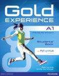 GOLD EXPERIENCE A1 STUDENTS  BOOK WITH DVDROM AND MYENGLISHLAB (EXAMENES) - 9781447961895 - VV.AA.