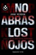 NO ABRAS LOS OJOS - 9788492833795 - JOHN VERDON