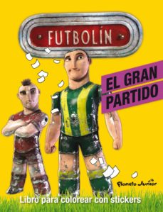 Lofficielhommes.es Futbolin: El Gran Partido (Libro Para Colorear Con Stickers) Image