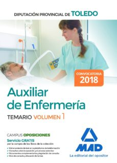 auxiliar de enfermería de la diputación provincial de toledo. volumen 1-9788414214305