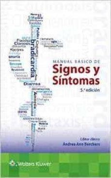 Descargar libros gratis en línea nook MANUAL BÁSICO DE SIGNOS Y SÍNTOMAS in Spanish