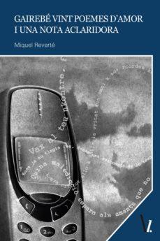 gairebé vint poemes d'amor i una nota aclaridora (ebook)-miguel reverté-9788417269005