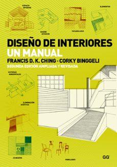 diseño de interiores: un manual-corky binggeli-francis d. k. ching-9788425227905