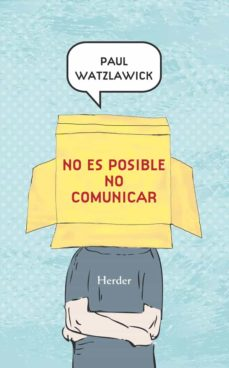 no es posible no comunicar (ebook)-paul watzlawick-9788425431005