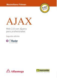 ajax web 2.0 con jquery para profesionales-maximiliano r. firtman-9788426717405